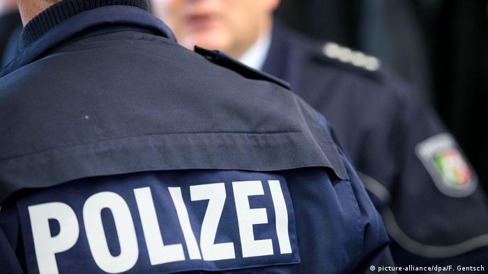Uniformed police in Germany (picture-alliance/dpa/F. Gentsch)