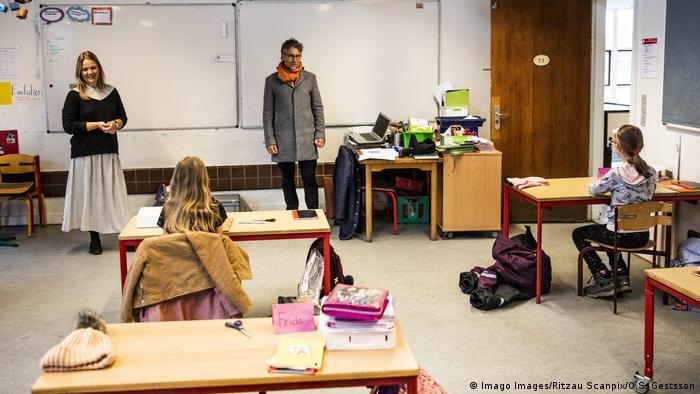Coronavirus Dänemark Wiedereröffnung der Schulen (Imago Images/Ritzau Scanpix/O.S. Gestsson)