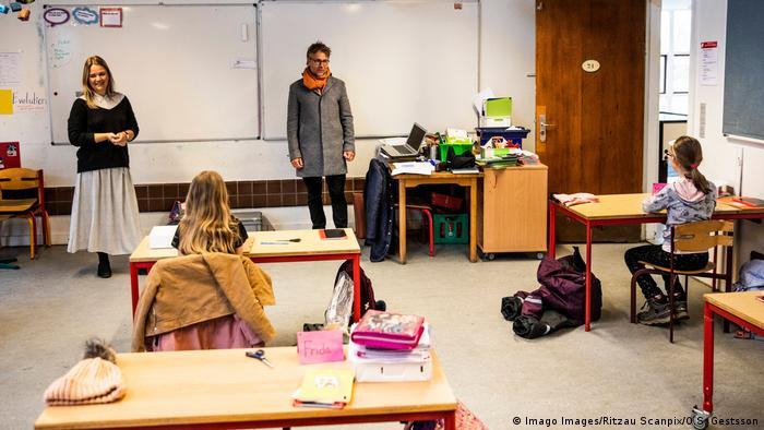 Coronavirus Dänemark Wiedereröffnung der Schulen (Foto: Imago Images/Ritzau Scanpix/O.S. Gestsson)