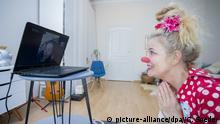BdT Coronavirus - Potsdam - Virtuelle Clownsprechstunde