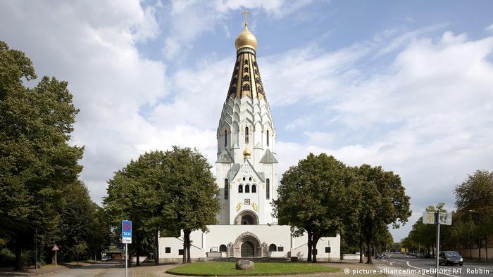 Храм-памятник в Лейпциге