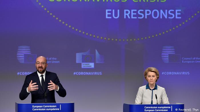 Predsednik Savetu EU Šarl Mišel u predsednica Evropske komisije Ursula fon der Lajen