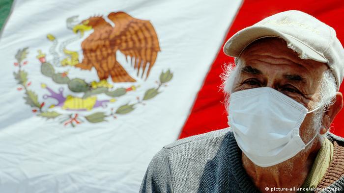 Mexiko Mexiko Stadt | Protest während der Corona-Krise