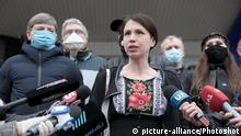 Ukraine Kiew Tetiana Chornovol