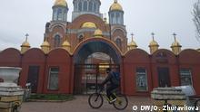 Ukraine Kirche in Kiew in Zeiten der Corona-Pandemie