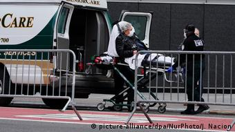 В больнице Нью-Йорка