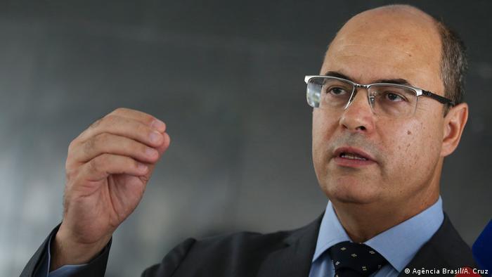 Brasilien Wilson Witzel - Gouverneur des Bundesstaats Rio de Janeiro