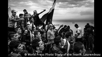 Βραβείο καλύτερου φωτορεπορτάζ στον Φρανσουά Λορεντό για τη «Γέννηση μιας εξέγερσης» - Aλγερία