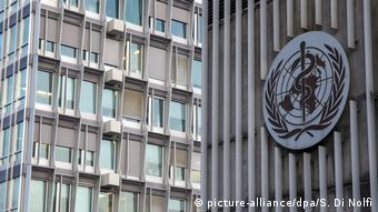 Schweiz Genf - Hauptsitz der Weltgesundheitsorganisation (WHO)