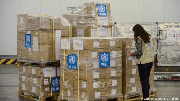 Pomoc WHO dla Etiopii