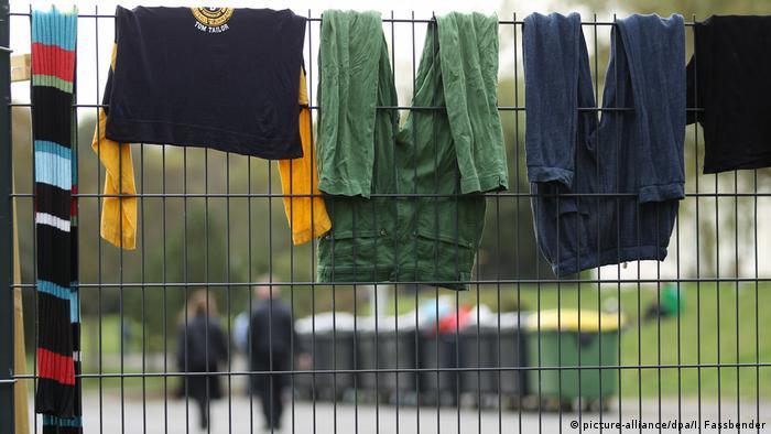 Asrama pengungsi di Burbach Jerman (picture-alliance/dpa/I. Fassbender)