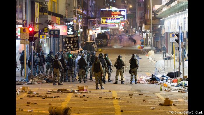 World Press Photo-Gewinner | Still Battleground PolyU | Hong Kong