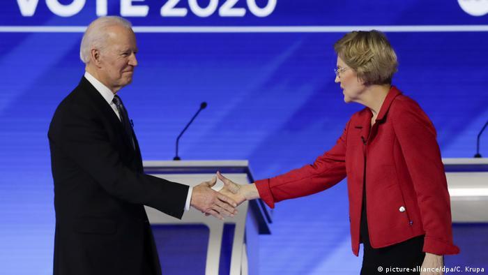 USA | Joe Biden und Elizabeth Warren