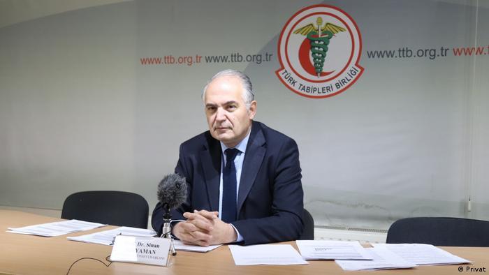 TTB Merkez Konseyi Başkanı Prof. Dr. Sinan Adıyaman
