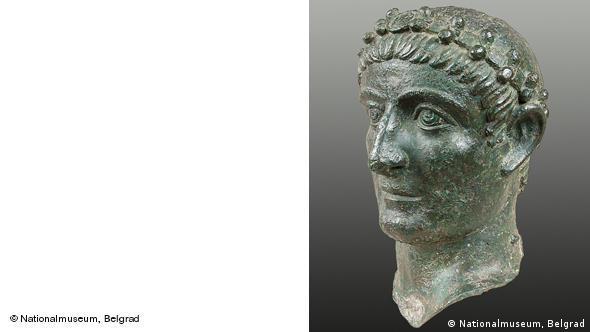 Император Константин I. Бронза, 325-330 гг. Национальный музей, Белград