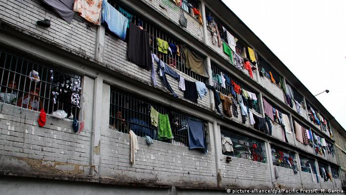 Kolumbien | La Modelo Gefängnis in Bogota (picture-alliance/dpa/Pacific Press/C. M. Garcia)