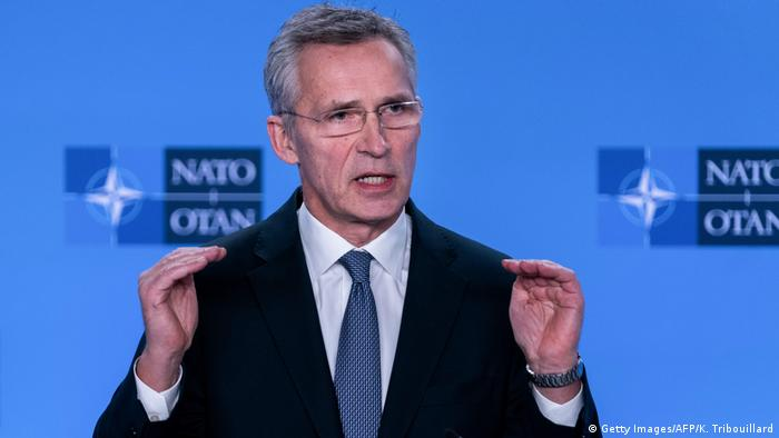NATO Generalsekretär Jens Stoltenberg (Getty Images/AFP/K. Tribouillard)