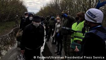 Обмен пленными между Киевом и пророссийскими сепаратистами в апреле 2020 года