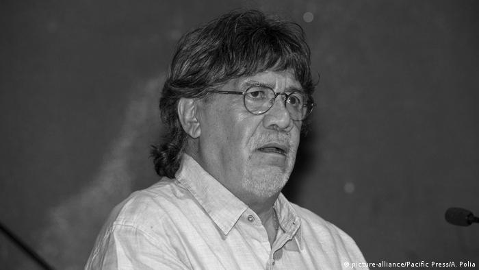 O escritor, roteirista e diretor de cinema chileno Luis Sepúlveda
