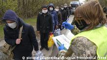 Ukraine Gefangenenaustausch in der Ostukraine