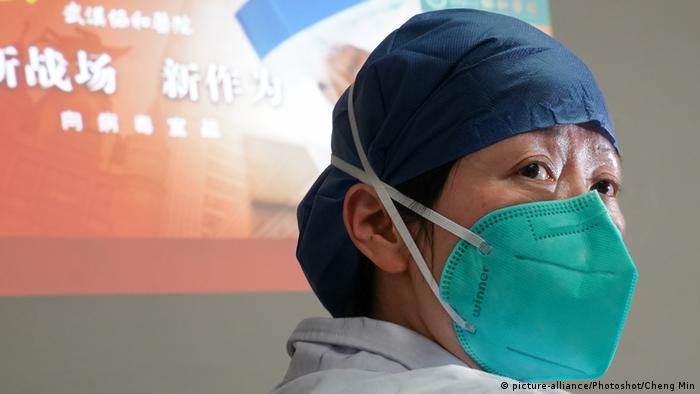 Jedna liječnica u Wuhanu