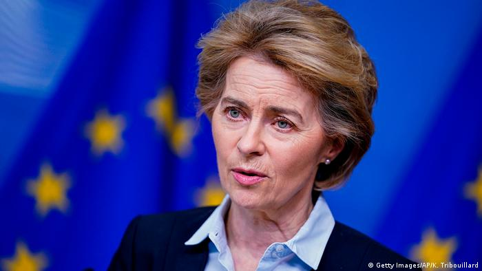 Ursula von der Leyen (Getty Images/AP/K. Tribouillard)