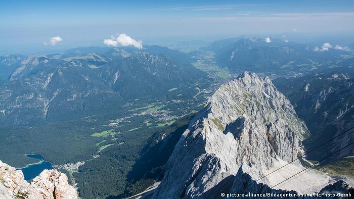 جبل تسوغ شبيتسه