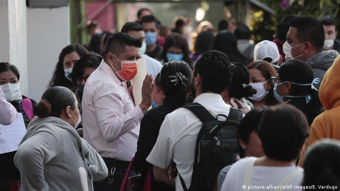 México lucha contra la pandemia del coronavirus.