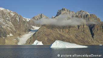 Берег восточной Гренландии