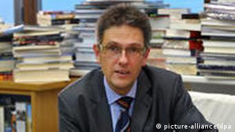 Der Direktor der Leipziger Buchmesse, Oliver Zille, (Foto: Hendrik Schmidt)