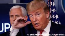 USA | Coronavirus | US-Präsident Donald Trump
