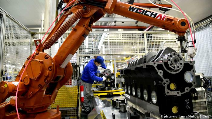 CHINA-ECONOMY-PMI (CN) (picture-alliance/Xinhua/G. Xulei)