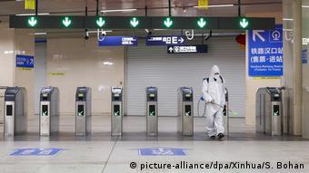 Coronavirus | China wird die Sperrung von Wuhan Coronavirus beenden (picture-alliance/dpa/Xinhua/S. Bohan)