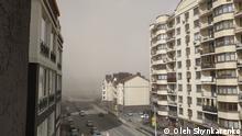Ukraine Kiew Sandsturm