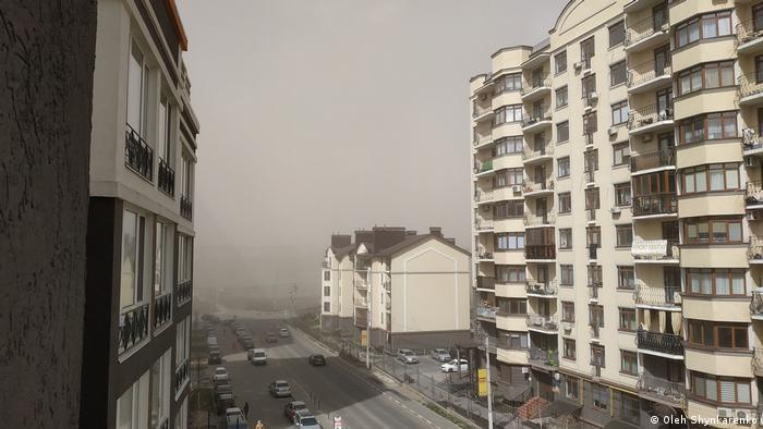 Пилова буря, Ірпінь, Україна