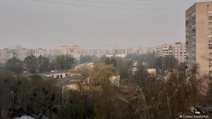 Солом'янський район Києва, ранок 17 квітня