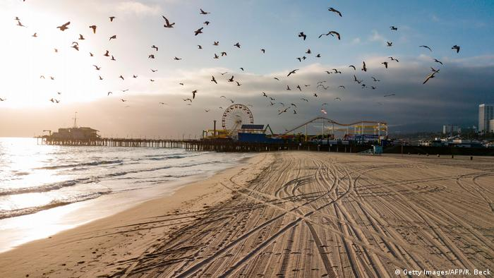 BdTD USA Santa Monica beach
