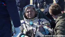 Raumfahrer mit Sojus-Kapsel von ISS zurückgekehrt