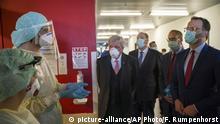 Gießen Gesundheitsminister Jens Spahn im Krankenhaus