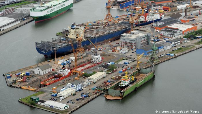 Deutschland Lloyd-Werft in Bremerhaven