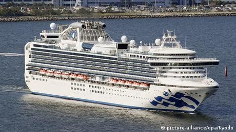 Kreuzfahrtschiff Diamond Princess (picture-alliance/dpa/Kyodo)