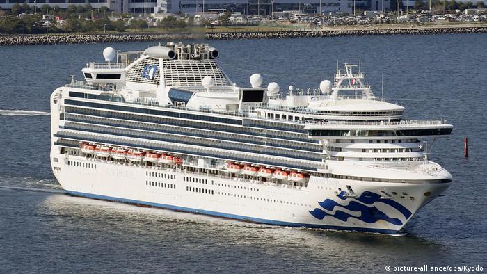 Kreuzfahrtschiff Diamond Princess (picture-alliance/dpa/Kyodo)