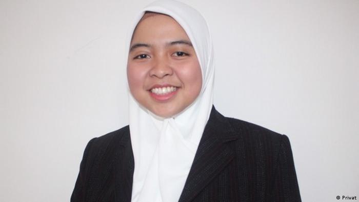 Deutschstudent Muthia Aulawiyah (Privat)