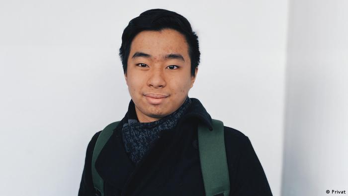 Deutschstudent Yudhistira Arief Wibowo (Privat)