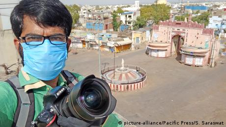 A Journalist in Beawar, India, covers the nationwide lockdown imposed in the wake of the novel coronavirus pandemic.