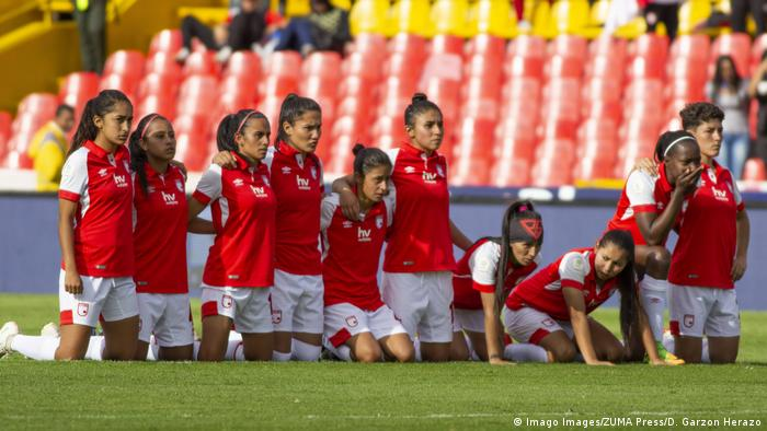 Kolumbien Frauenteam Independiente Santa Fe (Imago Images/ZUMA Press/D. Garzon Herazo)