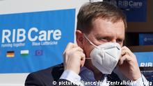 Coronavirus - Sachsen empfängt Hilfslieferung