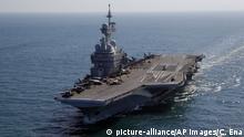 Frankreich Flugzeugträger Charles de Gaulle