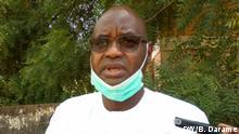 João Fadia, Minister of Finance of Guinea-Bissau 17.04.2020. Rights: Braima Darame / DW