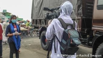 Bangladesch Journalismus in der Corona-Pandemie